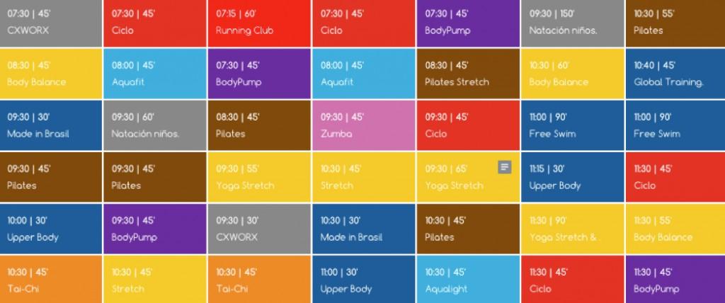 horario 3